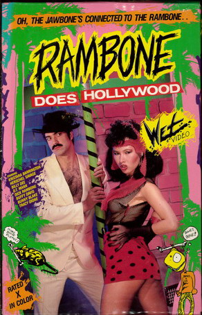 RAMBONE DOES HOLLYWOOD (VHS)