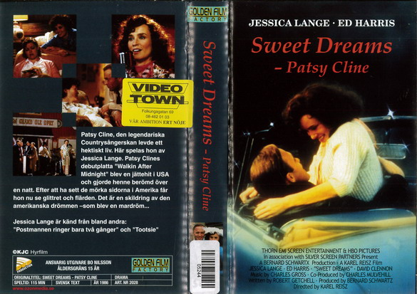 SWEET DREAMS - PATSY CLINE (VHS)