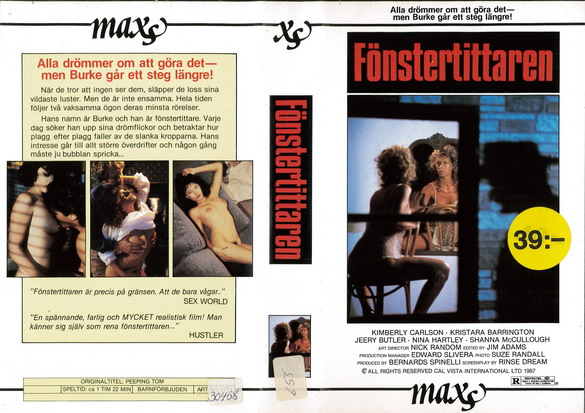 2711 FÖNSTERTITTAREN (VHS)