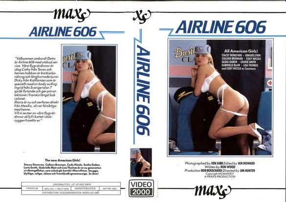 1904 AIRLINE 606 (VHS)