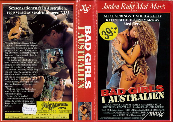 3413 BAD GIRLS I AUSTRALIEN (VHS)