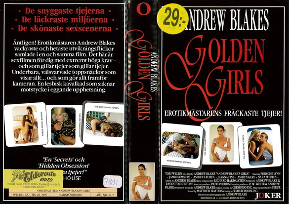 3913 GOLDEN GIRLS (VHS)