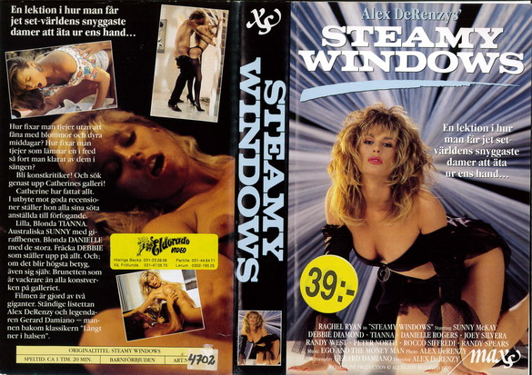 STEAMY WINDOWS (VHS)