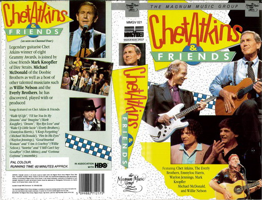 CHET ATKINS & FRIENDS (VHS)