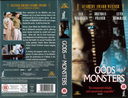 GODS AND MONSTERS (VHS) UK