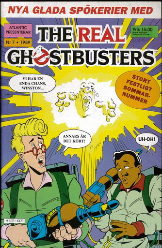 REAL GHOSTBUSTERS 1989:7