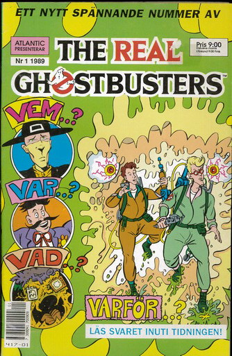 REAL GHOSTBUSTERS 1989:1