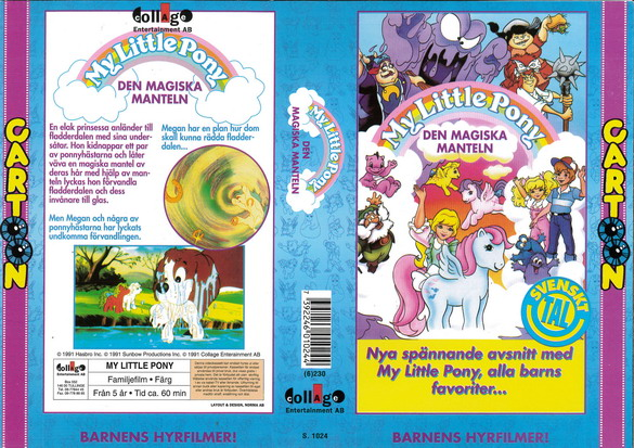 MY LITTLE PONY - DEN MAGISKA MANTELN