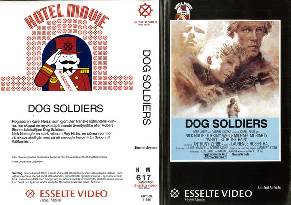 11885 DOG SOLDIERS  (VHS)