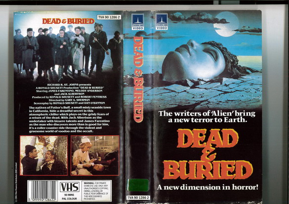 DEAD AND BURIED (VHS) UK