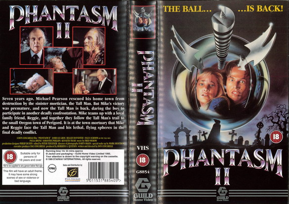 PHANTASM 2 (VHS) UK