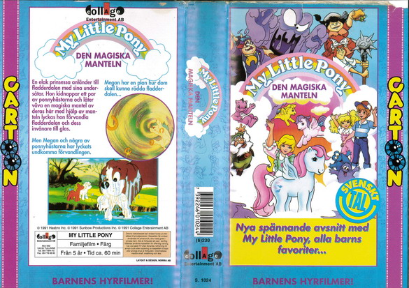 1024 MY LITTLE PONY - DEN MAGISKA MANTELN (VHS)