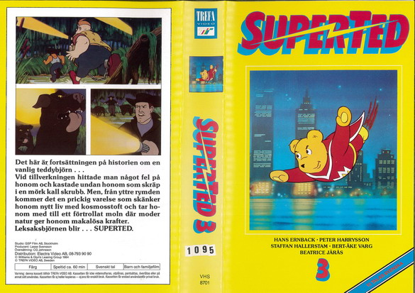8701 SUPERTED DEL 3 (VHS)