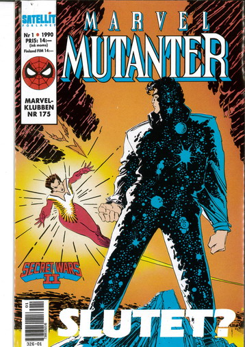 MARVEL MUTANTER 1990:1