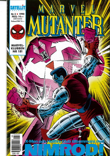 MARVEL MUTANTER 1990:3