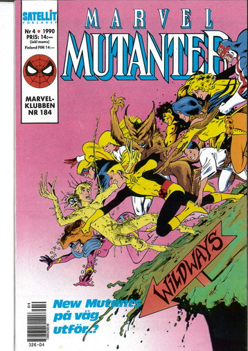 MARVEL MUTANTER 1990:4
