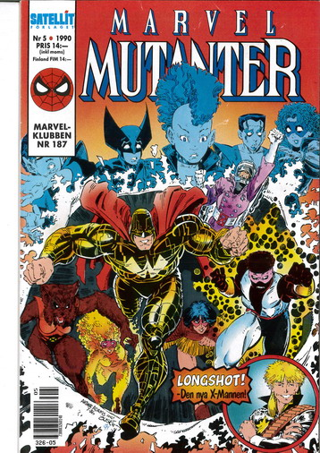 MARVEL MUTANTER 1990:5