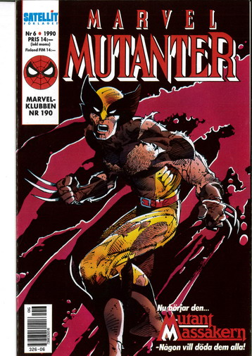 MARVEL MUTANTER 1990:6