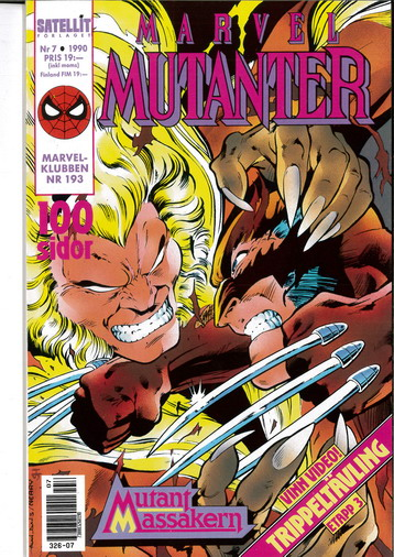 MARVEL MUTANTER 1990:7