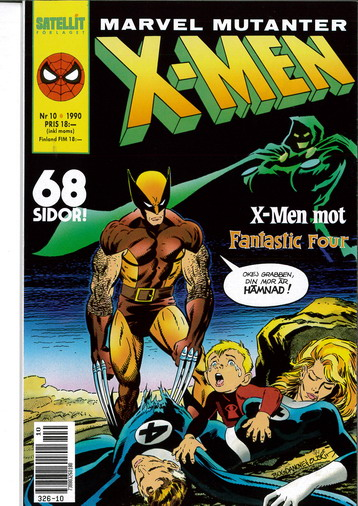 MARVEL MUTANTER 1990:10