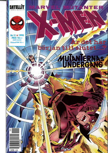 MARVEL MUTANTER 1990:11