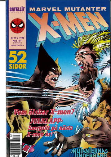 MARVEL MUTANTER 1990:12