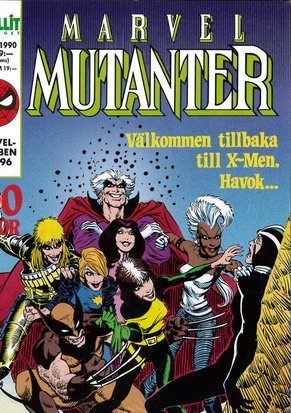 MARVEL MUTANTER 1990:8