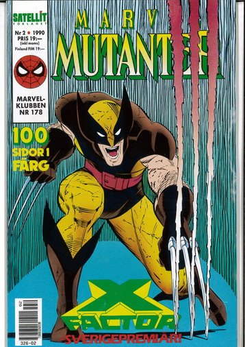 MARVEL MUTANTER 1990:2