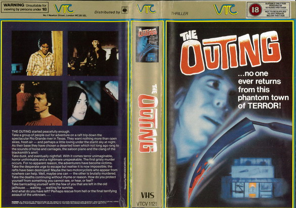 OUTING (VHS) UK