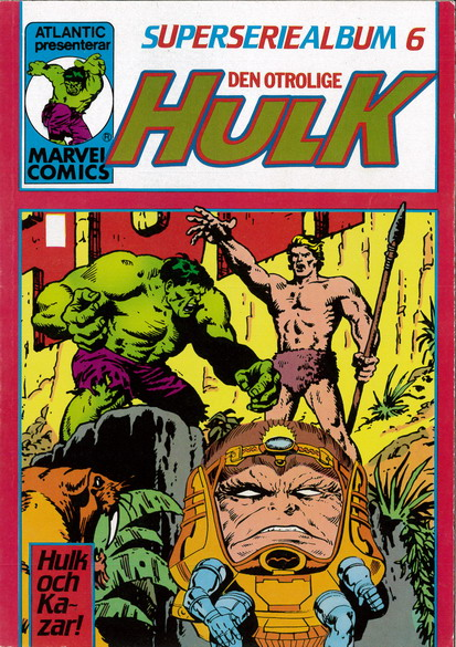 SUPERSERIEALBUM 6  - HULK
