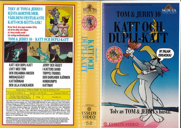 27192 TOM & JERRY 10 (VHS)