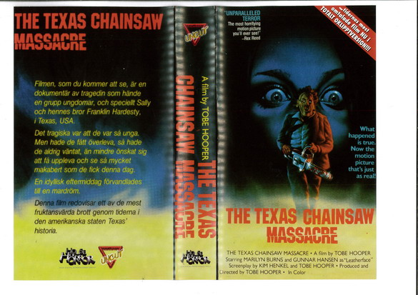 TEXAS CHAINSAW MASSACRE (VHS)