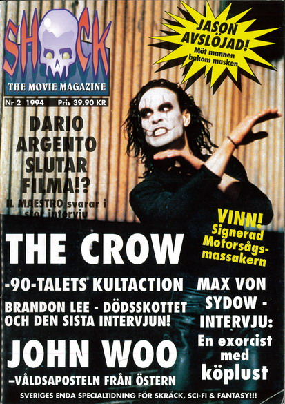 SHOCK - THE MOVIE MAGAZINE 1994:2