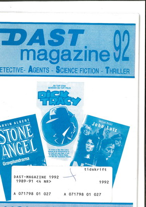 DAST MAGAZINE 92 VOL 25 NR 1-2