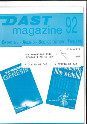 DAST MAGAZINE 92 VOL 25 NR 3-4