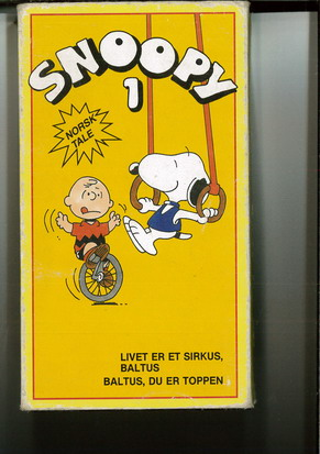SNOOPY 1 (VHS) NORGE
