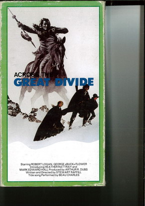 ACROSS THE GREAT DIVIDE (VHS)