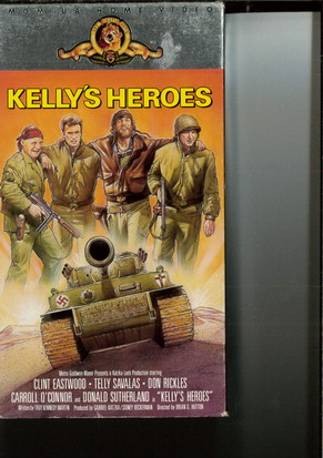 KELLY'S HEROES (USA)(VHS)