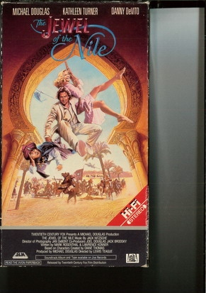 JEWEL OF THE NILE (VHS) USA