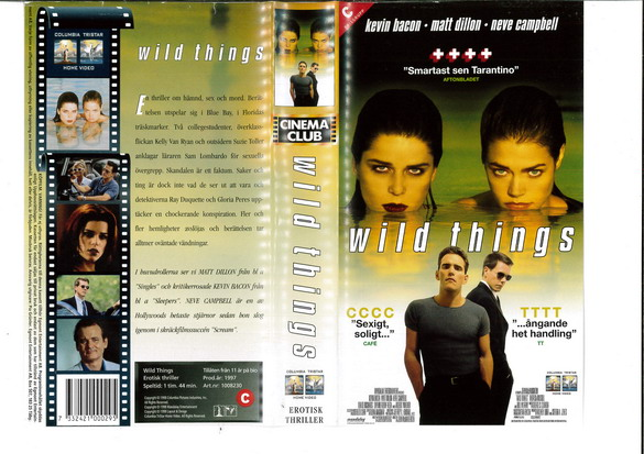 WILD THINGS (VHS)