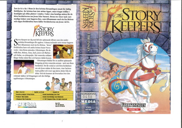 STORY KEEPERS - UTBRYTNINGEN (VHS)