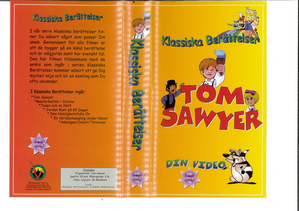 TOM SAWYER (VHS)
