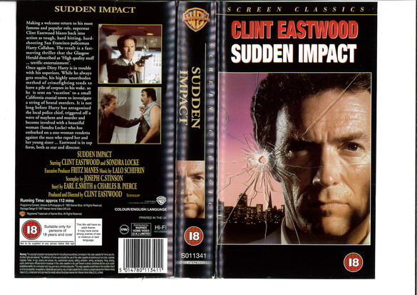 SUDDEN IMPACT (VHS) UK
