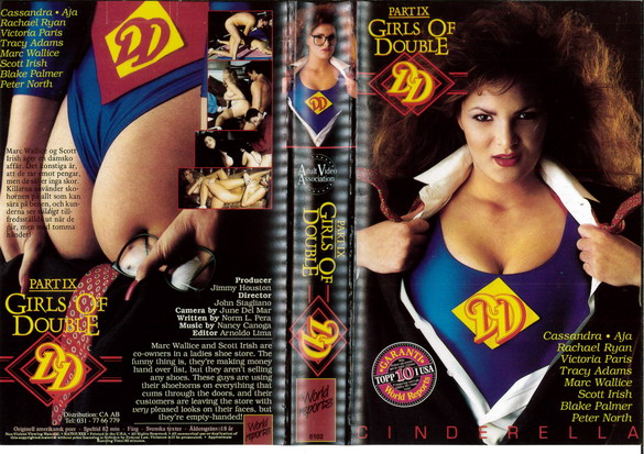 6102 GIRLS ON DOUBLE PART 9 (VHS)