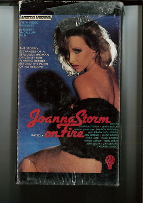 JOANNA STORM ON FIRE (VHS) PAPPASK