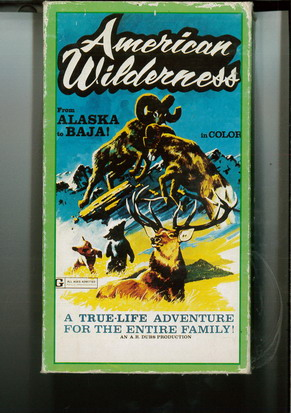 AMERICAN WILDERNESS (VHS)