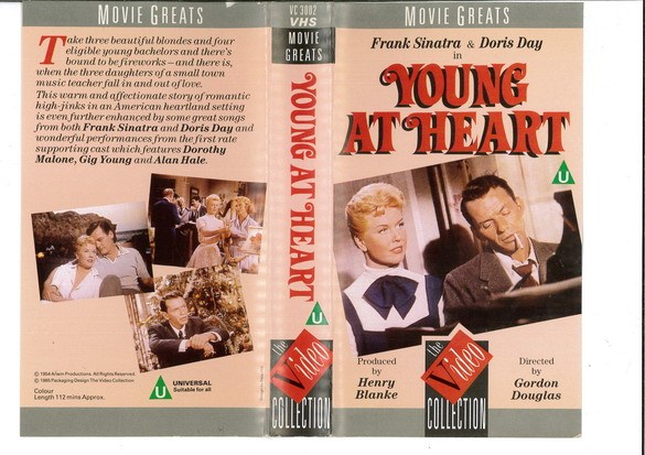 YOUNG AT HEART  (VHS)  UK