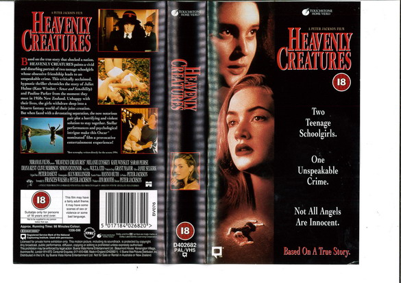 HEAVENLY CREATURES (VHS)   UK