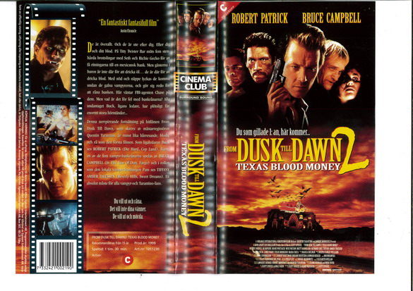 FROM DUSK TILL DAWN 2 (VHS)