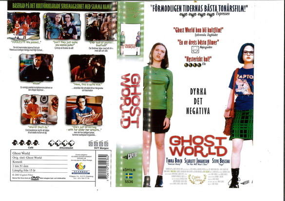 GHOST WORLD (VHS)